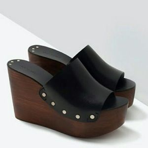 Zara woman clogs